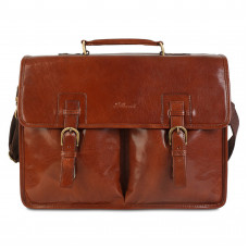 Портфель Ashwood Leather Gareth Chestnut Brown