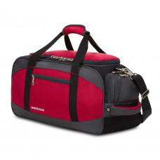 Сумка спортивная SWISSGEAR, красный/серый/чёрный, полиэстер 1200D, 52х25х30 см, 39 л