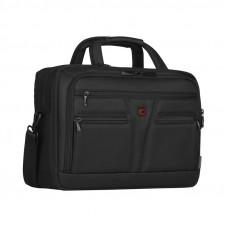 Портфель WENGER для ноутбука 14-16'', черный, баллистический нейлон, 41 x 20 x 29 см, 18 л