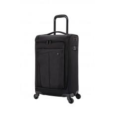 Чемодан WENGER Getaway, цвет черный, полиэстер 720x720D добби, 35x20x63 см, 44 л