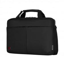 Портфель для ноутбука 14'' WENGER, черный, нейлон / ПВХ, 39 x 8 x 26 см, 5 л