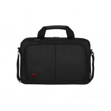 Портфель для ноутбука 14'' WENGER, черный, нейлон / ПВХ, 39 x 8 x 25 см, 5 л