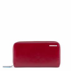 Портмоне Piquadro PD1515B2R/R горизонтальное красное