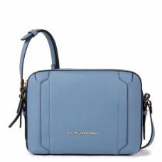 Женская сумка через плечо Piquadro BD4870W92/AV2 кожаная голубая