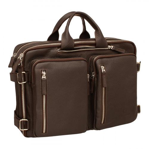 Деловая сумка-трансформер Kanilford Brown
