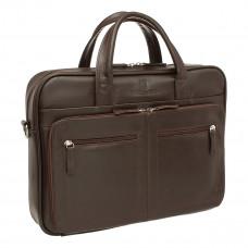 Деловая сумка Abercorn Brown
