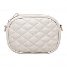 Женская сумка трансформер Lalur Silver White