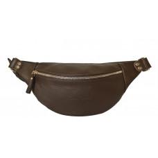 Кожаная поясная сумка Belfiore brown (арт. 7003-04)