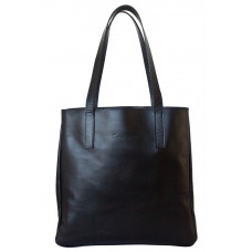 Кожаная женская сумка Vietto black (арт. 8008-01)