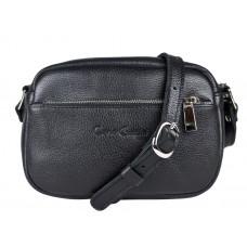 Кожаная женская сумка Cristina black (арт. 8032-91)