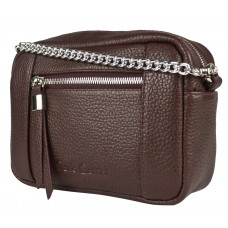 Кожаная сумка Pilati burgundy (арт. 7014-09)