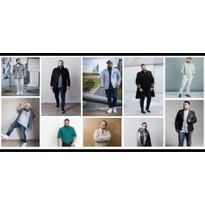 Мода и стиль для полных мужчин
