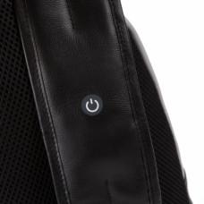 Рюкзак с одной лямкой Piquadro CA4536UB00L/GRN с подсветкой кожаный черно-серый