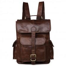 Кожаный рюкзак Retro