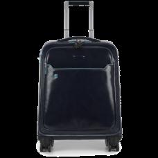 Дорожная сумка Piquadro BV3849B2/BLU2 кожаная темно-синяя
