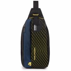 Рюкзак с одной лямкой Piquadro CA5117PQY/BLG сине-желтый
