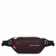 Поясная сумка Piquadro CA5118PQY/GRR серо-красная