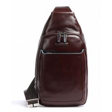Рюкзак Piquadro Blue Square CA4827B2/MO коричневый натур.кожа