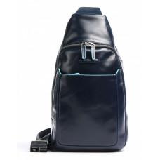 Рюкзак Piquadro Blue Square CA4827B2/BLU2 синий натур.кожа