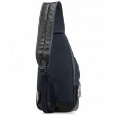Рюкзак с одной лямкой Piquadro CA4536DT/GR кожаный серый