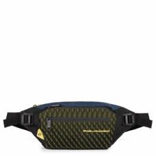 Поясная сумка Piquadro CA5118PQY/BLG сине-желтая