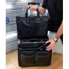 Дорожная сумка Piquadro CA3338B2/N кожаная черная