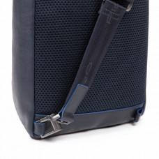 Рюкзак с одной лямкой Piquadro CA5107B2S/BLU мужской кожаный синий