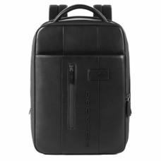 Бизнес-рюкзак кожаный с расширением Piquadro CA4841UB00/N черный