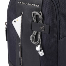 Рюкзак с одной лямкой Piquadro CA4536BR/N черный