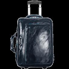 Дорожная сумка Piquadro BV2960B2/BLU2 кожаная темно-синяя