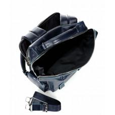 Бизнес-рюкзак Piquadro CA4898B2BM/BLU2 кожаный синий