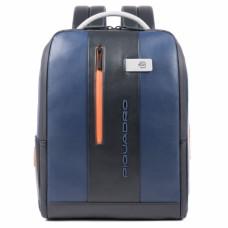 Бизнес-рюкзак кожаный Piquadro CA4818UB00/BLGR сине-серый