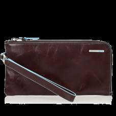 Портмоне Piquadro AC2648B2/MO горизонтальное красно-коричневое