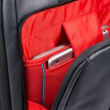 Дорожная сумка - рюкзак Piquadro BV4817UB00BM/N кожаная черная