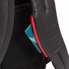 Бизнес-рюкзак кожаный Piquadro CA4818UB00/GRN черно-серый