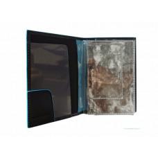 Обложка для автодокументов Piquadro PP5256B2/BLU2 синяя