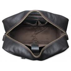 Дорожная кожаная сумка JMD 7156LA
