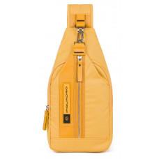 Рюкзак Piquadro Bios CA4536BIO/G желтый нейлон
