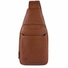 Сумка-рюкзак с одной лямкой Piquadro CA4827B3/CU табачная