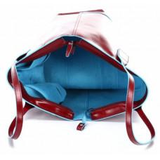Женская сумка Piquadro BD3336B2/R кожаная красная
