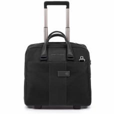 Дорожная сумка на колесах Piquadro BV4729BR/N черная