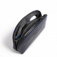 Несессер Piquadro AC5470B2S/BLU кожаный синий