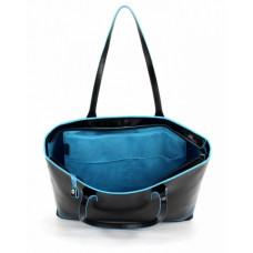 Женская сумка Piquadro BD3336B2/N кожаная черная